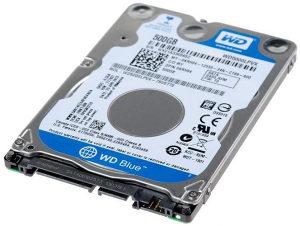 """Western Digital Hard Disk HDD 2.5"""" 500 GB"""