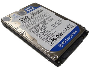"Western Digital Hard Disk HDD 2.5"" 320 GB"