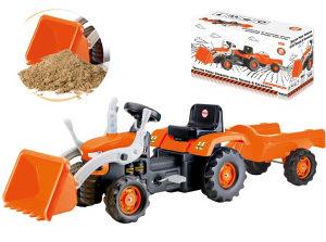 DOLU Traktor utovarivač s prikolicom, igračke