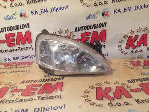 Desni far opel corsa C 2004 KA EM