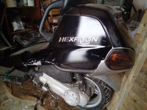 Piaggio hexagon LX4