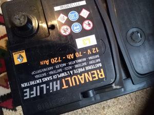 Akumulator nov saa garancijom