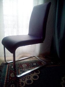 Trpezarijske stolice 6 inox nove,ne koristene