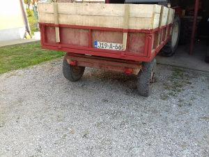 Traktorska prikolica kiperka kiper prikolica registrova
