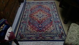 Tepih Rucni rad, vuna i pamuk 180x120cm