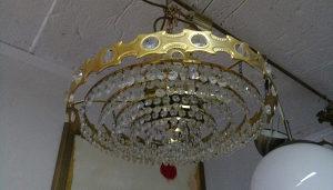 Luster kristalni stilski 1960te Austrija