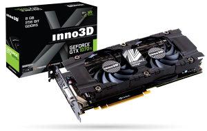 INNO3D GEFORCE GTX 1070 TI X2 8GB