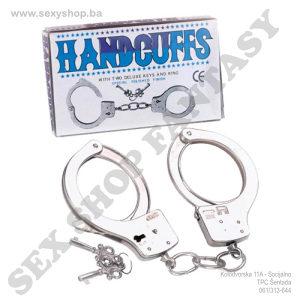 Metalne lisice sa ključevima | SEX SHOP FANTASY