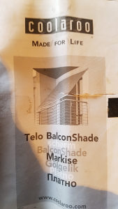 Balkonska tenda