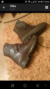 Čizme vojničke