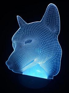 Led 3D lampa