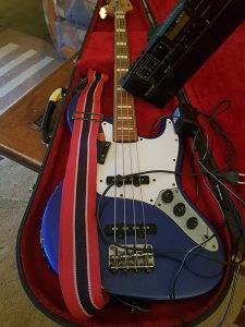 Bass gitara,equalizer i bass procesor
