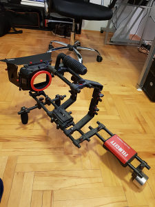 FILMCITY Camera Cage Shoulder Rig Kit + Follow Focus