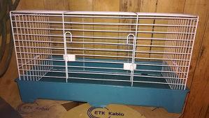 Kavez veliki za zeca, zamorca, hrcka... Dimenzije 65x35