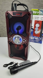 Bluetooth zvucnik, karaoke zvucnik 20w sa mikrofonom