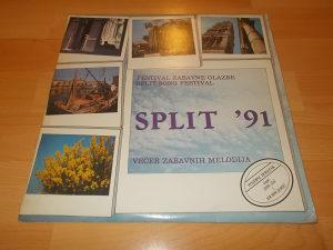 """Festival Zabavne Glazbe """"Split '91"""" Lp"""