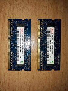 RAM za laptop 4gb (2x2gb) DDR3 1333MHz