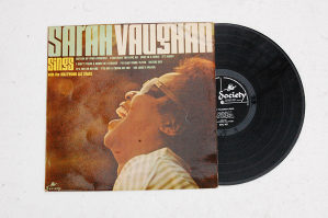 Sarah Vaughan ‎- Sarah Vaughan Sings LP (London)