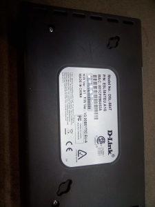 D-Link ADSL2   Modem Router