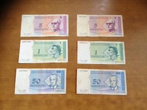 Novčanice BOSNA I HECREGOVINA--LOT