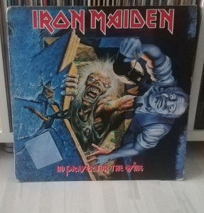 Iron Maiden ‎- No Prayer For The Dying LP