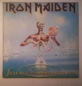 Iron Maiden ‎- Seventh Son Of A Seventh Son LP