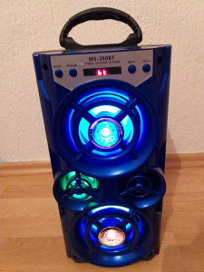 Karaoke bluetooth zvucnik sa mikrofonom