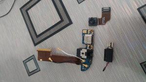 htc m8 konektor punjenja,prednja kamera i vibro motor