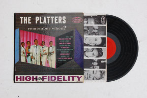 The Platters - Remember When? LP (USA)