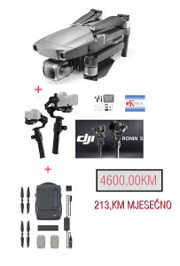 DRON DJI MAVIC 2 PRO DJI RONIN-S + FLY MORE KIT