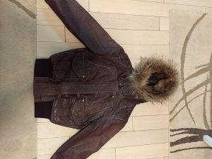 Zenska kozna jakna FRATTELI
