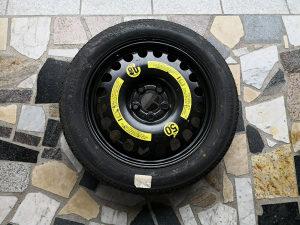 Rezervni točak 17 5x112 tanka guma Mercedes E CLS