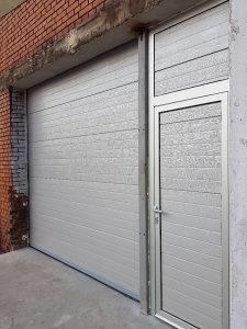 Garazna Sekciona vrata-Siva linije.