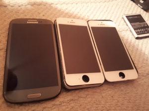 Dijelovi Samsung S3 16gb Iphone 5S 16gb