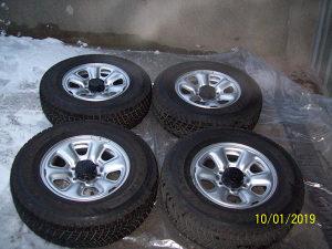 felge sa gumama Toyota Land Cruiser, Hilux, 4Runner