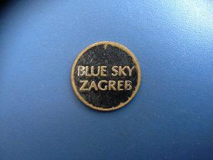Žeton ,, BLUE SKAY ZAGREB ,,