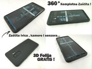 360° Maska za Samsung Galaxy S9 PLUS (3D Folija Gratis)