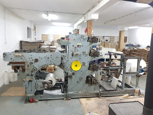 Mašina stroj za mesarski papir Fischer + Krecke
