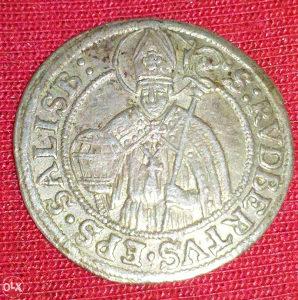 Kovanica 3 krajcer 1681 Srebro