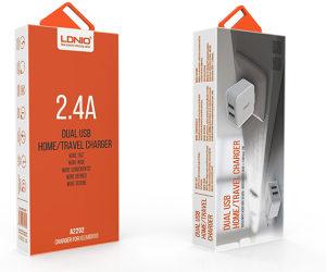 BRZI PUNJAC LDNIO 2.4Ampera 2 USB Izlaza
