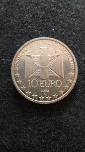 Kovanica srebrna 10 eura 2002