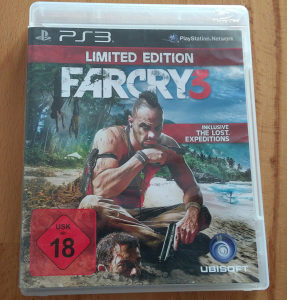 PS3 FARCRY 3 LIMITED EDITION 062/325-468