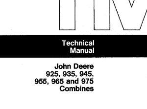 John Deere 925-935-945-955-965-975 Priručnik