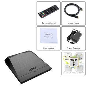 Android WI-FI TV BOX Model M96X (2/8 GB)