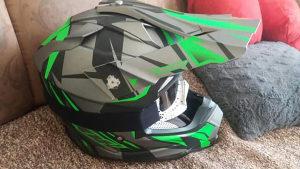 Cross kaciga nox + brile kross kaciga motocross