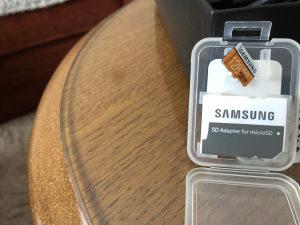 Micro sd 128gb SAMSUNG EVO