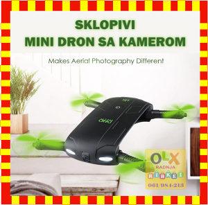 MINI WIFI DRON D5 SA KAMEROM