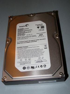 Segate 320gb HDD Sata