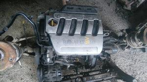 Motor 1.6 16v renault scenic 2002 god