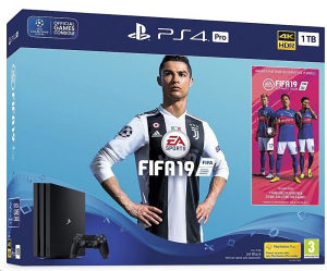 Konzola Playstation 4 PRO 1TB B FIFA 19-INFOCOM